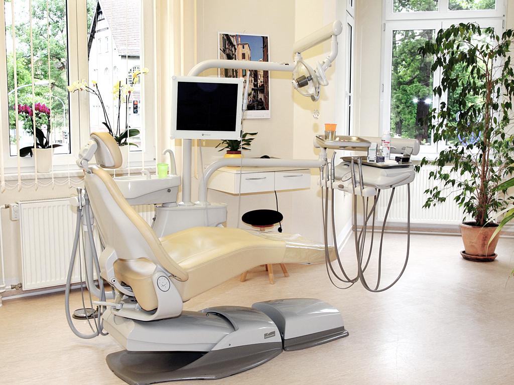 Wartezimmer Zahnarztpraxis Dr. Katrin Klemm
