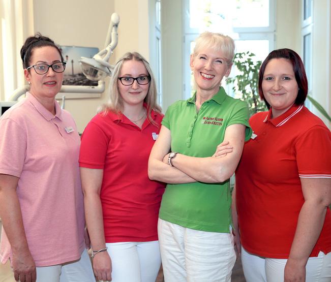 Zahnarztpraxis Dr. Klemm Neuruppin Team